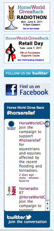 Social Media Tools for Horse World Gives Back